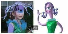 Celia, homemade diy costume monster's inc-I'd refine it, but I like how they did the eye