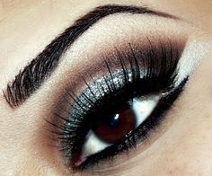 Brown & Silver Sultry Eyes
