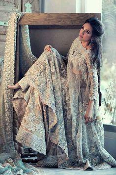 This Beautiful Pakistani Wedding Dress By Farah Fatima Couture