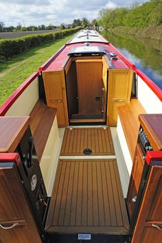 Our Boats — Tyler Wilson Barge Boat, Canal Barge, Canal Boat Interior, Narrowboat Interiors, Boat Lift, Wood Boats, Floating House, Boat Dock, Boat Design