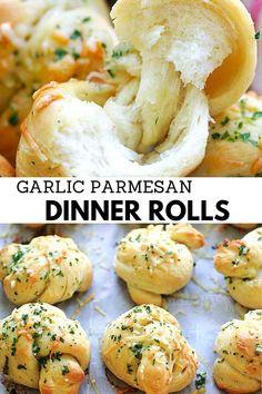 Dinner Rolls Recipe, Best Rolls Recipe, Soft Bread Rolls Recipe, Best Dinner Roll Recipe, Dinner Rolls Easy, Sweet Dinner Rolls, Homemade Dinner Rolls, I Love Food, Good Food