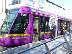 2013. Vhi Healthcare are currently running an outdoor campaign consisting of a complete Luas Tram Wrap across the Green Line to promote the Vhi SwiftCare Clinics in Balally, Dundrum and in Swords. The Luas wrap will be running for three months on the full length of the Green Line. The wrapped Luas was chosen as a key medium due to its proximity to the location of the Vhi SwiftCare Clinic at Balally as well as creating stand-out and delivering both a consumer and roadside audience. Swords, Clinic, Trains, Health Care, Ireland, Innovation, Campaign, Wellness, Key