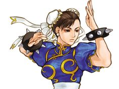 Chun-Li is the first female fighting character seen in a video game. With her iconic looks and memorable fighting style, she inspired other video game franchises to have an upbeat Asian woman to appear in their games. Street Fighter Game, Capcom Street Fighter, Street Fighter Characters, Super Street Fighter, Female Characters, Ryu And Chun Li, Snk King Of Fighters, Chun Li Cosplay, Naruto Vs Sasuke