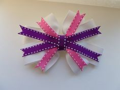 Beautiful Spring Bow  Krapfl Girl on Etsy