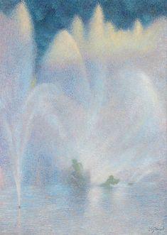 Le Bassin dApollon Versailles by LucienLévy-Dhurmer Versailles, Pastel Drawing, Romanticism, Metropolitan Museum, Impressionist, Buy Art, Oil On Canvas, Art Nouveau, 19th Century
