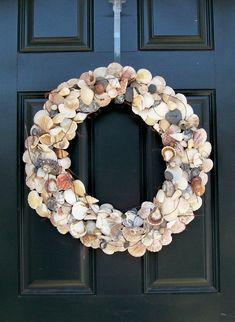 shells wreath
