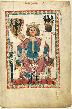 Hendrik VI. (Codex Manesse, rond 1300)