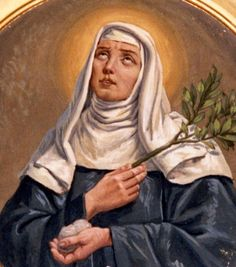 Blessed Veronica of Milan - A pious girl, she received visions and was taught catechism by the Blessed Virgin Mary. She became an Augustinian lay sister known for her gift of prophecy.