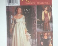 Renaissance wedding dress gown costume Simplicity 9929 by HeyChica