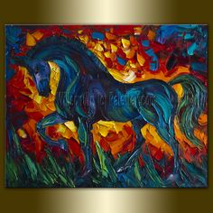 #Horse #Painting