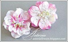 Блог магазина Ромашкино: Цветы из акварельной бумаги МК