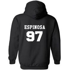 Matthew Espinosa 97 Hooded Sweatshirt