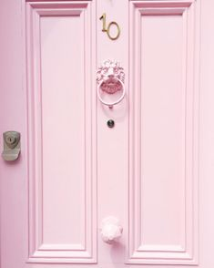 This pristine door. When in doubt, think pink. Fuchsia, Pastel Pink, Pink Pink Pink, Pink Love, Pretty In Pink, Tout Rose, Poster Design, Pink Themes, Pink Photo
