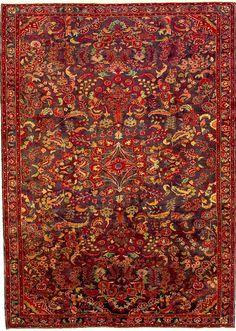 Red Persian rug!