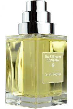 Sel de Vetiver The Different Company for women and men vetiver, salt, geranium, cardamom, iris, bergamot, ylang-ylang