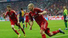 Bayern korde over barcelona