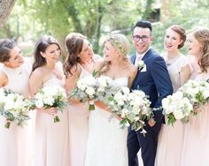 """2,163 Likes, 18 Comments - Wedding Chicks® (@weddingchicks) on Instagram: """"The cutest squad ever. 🙌#bridalsquad Photographer @amy_demos and @jordan_demos LINK IN BIO for…"""""""