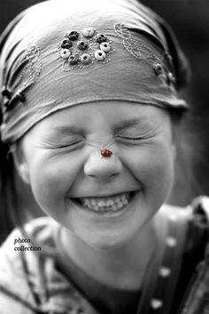 Ladybug happiness: