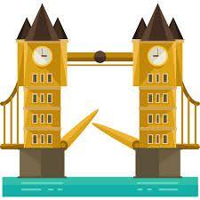 Image result for london bridge cartoon