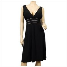 #Sexy Little Black Cocktail Dress Crystals JR Plus #Size       http://amzn.to/H3lk0c       Great Dress!!!