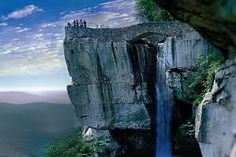 Lookout Mountain in Tennessee. It's absolutely gorgeous Lots of fun definitely worth seeing