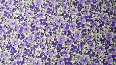 Mandi Floral with Leaves in Purple General Fabrics Cotton Fabric by the Yard by LaCreekBlue on Etsy