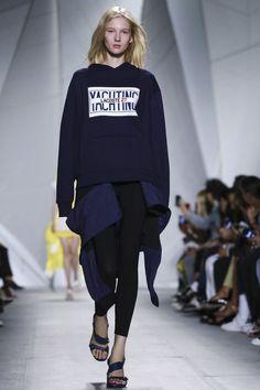 Lacoste Ready To Wear Spring Summer 2015 New York Live Fashion, Fashion Show, Ss 15, Spring Summer 2015, Lacoste, Runway Fashion, Ready To Wear, Fashion Photography, Graphic Sweatshirt