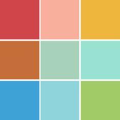 La Cara Street color scheme