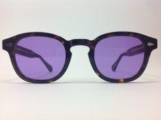 Moscot lemtosh tartarugato con lenti viola - Ottica Tullino
