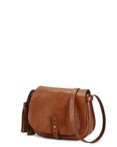 Leather Tassel Messenger Bag - Polo Ralph Lauren Hobos & Shoulder Bags - RalphLauren.com