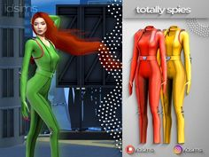 The Sims 4 totally spies costume Sims 4 Body Mods, Sims 4 Game Mods, Sims Mods, Sims 4 Mac, Sims Cc, Sims 4 Cc Kids Clothing, Sims 4 Mods Clothes, Maxis, Dj Like