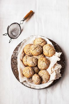 date sesame & Orange cookies