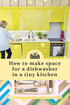 No kitchen is too small for a dishwasher! Take a 360° tour of six real tiny kitchens and discover inspiring tips from their owners about how to create more space without sacrificing character. Brought to you by Finish & Neff, we'll help you find the perfect appliance for your compact kitchen.