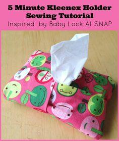 DIY Tissue Holder DIY 5 Minute Kleenex Holder DIY Tissue Holder