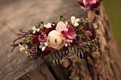 Flower hair comb wedding hair comb silk flowers dried and stabilized flowers siz. brautkrone , Flower hair comb wedding hair comb silk flowers dried and stabilized flowers siz. Flower hair comb wedding hair comb silk flowers dried and stabiliz. Flower Crown Wedding, Bridal Hair Vine, Wedding Hair Flowers, Hair Comb Wedding, Headpiece Wedding, Bridal Flowers, Flowers In Hair, Silk Flowers, Dried Flowers