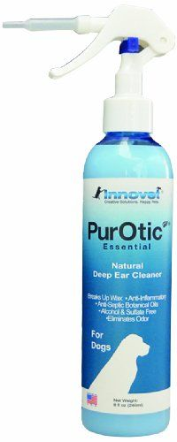 Innovet Pet Products PurOtic All Natural Deep Ear Cleanser for Pets, 8-Ounce - http://www.thepuppy.org/innovet-pet-products-purotic-all-natural-deep-ear-cleanser-for-pets-8-ounce/