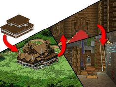 Minecraft's Ultimate Woodland Survival Mansion! - YouTube