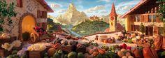 EL CREADOR DE PAISAJES COMESTIBLESEl creador de paisajes comestibles