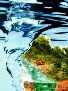 "QUER SABER DE MIM?     ME PERGUNTE.: PARA ""WATER"" - MAIL ART PROJECT - 2014 - ISTANBUL"