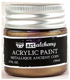 Finnabair Art Alchemy Acrylic Paint - Metallique Ancient Con