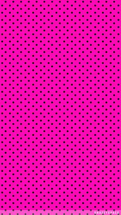 Hot Pink and Black iPhone Wallpaper