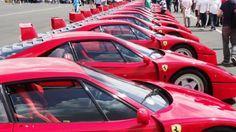 """Ma Ferrari favorite, la F40 pas loin de 480ch dans une voiture """"old style"""", juste l'homme et la machine."""