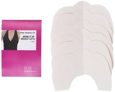 Maidenform Women's Plus-Size 3 Pair Bring It Up Breast Lift Tape, Clear, Large Maidenform. $12.00. For ultimate lift. Adhesive. Strapless and backless support. 3 pairs. Disposable. Made in USA. 100% polyurethane. Hand Wash