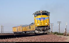 RailPictures.Net Photo: UP 4014 Union Pacific EMD SD70M at Hesperia, California by Bob Hanggie