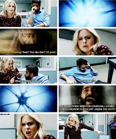 "#iZombie 3x12 ""Looking for Mr. Goodbrain, Part 1"" - Liv and Ravi"