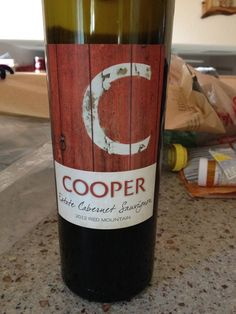2012 Cooper Estate Cab Sauv - Red Mountain - Vibrant ruby red with purplish reflections. Spicy on the nose like a peppered BBQ steak. After an hour, some herbal notes as well. On the palate, dry, dark fruits, pepper, well integrated alcohol, balanced. Full body. An excellent example of Cab Sauv from Red Mountain. BP: Buy