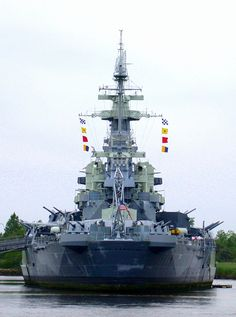 """USS North Carolina"" by davebailey on Flickr - USS North Carolina Battleship, Wilmington, North Carolina"