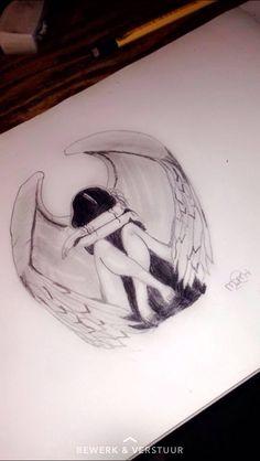 Ik hou ook erg van tekenen, dit is de laatste tekening die ik heb gemaakt