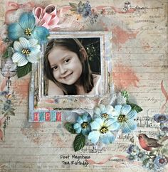 C'est Magnifique Scrapbook Kits and Store: Tina's January Kit Projects
