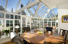 Mozolowski & Murray are experts in the design and manufacture of bespoke conservatories, luxury orangeries, sun lounges, garden rooms and extensions. Conservatories, Bespoke, Period, British, Dining, Luxury, Gallery, Interior, Room